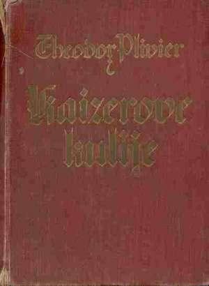 Kaiserove kulije- njemačka ratna mornarica Theodor Plivier tvrdi uvez