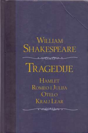 Tragedije Shakespeare William tvrdi uvez