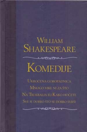 Komedije Shakespeare William tvrdi uvez