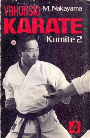 Vrhunski karate Masatoshi Nakayama meki uvez