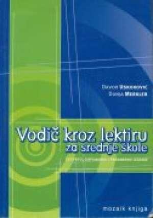 Vodič kroz lektiru za srednje škole Davor Uskoković, Dunja Merkler meki uvez