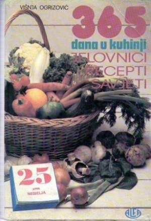 365 dana u kuhinji Višnja Ogrizović tvrdi uvez