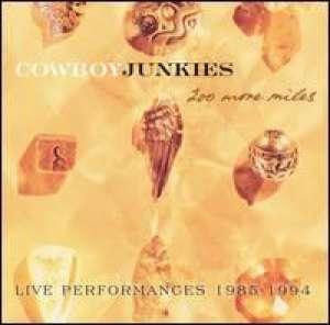 200 More Miles Cowboy Junkies