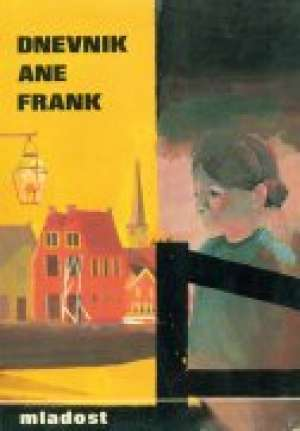 Dnevnik Ane Frank Frank Ana tvrdi uvez