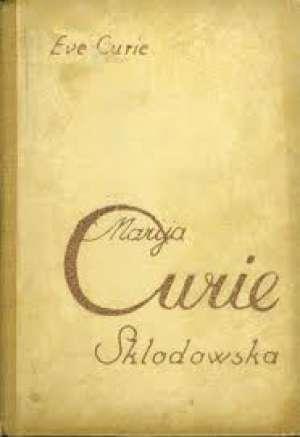 Marija curie-sklodowska Curie Eve tvrdi uvez