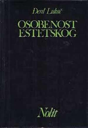 Osobenost estetskog Lukacs Georg tvrdi uvez