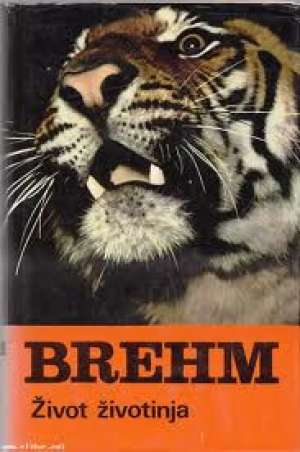 Život životinja Alfred Edmund Brehm tvrdi uvez