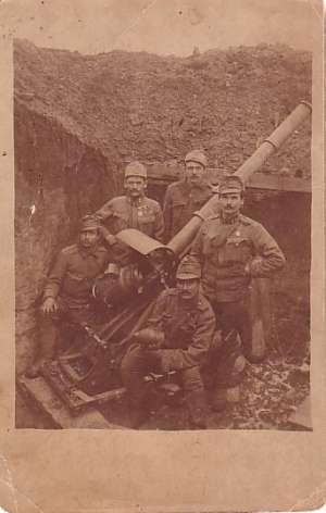fotografija-razglednica - bojno polje (1. svjetski rat?) Hrvatska