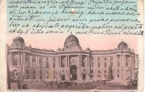 Europa - Beč - hofburg