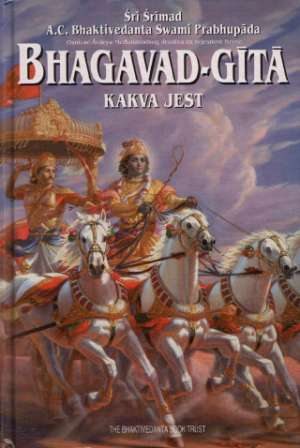 Bhagavad-Gita kakva jest Sri Srimad  A.C. Bhaktivedanta Swami Prabhupada tvrdi uvez