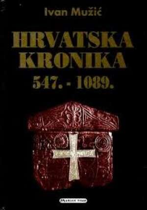Hrvatska kronika 547.-1089. Ivan Mužić tvrdi uvez