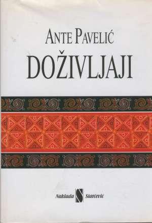 Doživljaji Ante Pavelić tvrdi uvez