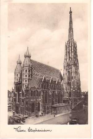 Europa - Beč - katedrala sv. stjepana