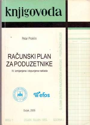 Petar Proklin - Računski plan za poduzetnike