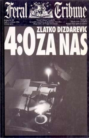 4:0 za nas Dizdarević Zlatko meki uvez