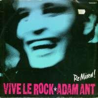 Gramofonska ploča Adam Ant Vive Le Rock (Re Mixed!) TA6367, stanje ploče je 10/10