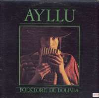 Gramofonska ploča Ayllu Folklore De Bolivia LP 394, stanje ploče je 10/10