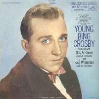Gramofonska ploča Bing Crosby Young Bing Crosby LPM-2071, stanje ploče je 7/10