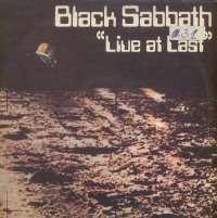 Gramofonska ploča Black Sabbath Live At Last... LPS 1019, stanje ploče je 9/10