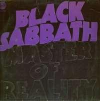 Gramofonska ploča Black Sabbath Master Of Realtiy 6360 050, stanje ploče je 9/10