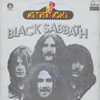 Gramofonska ploča Black Sabbath Attention! Black Sabbath! LP 5551, stanje ploče je 7/10