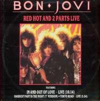 Gramofonska ploča Bon Jovi Red Hot And 2 Parts Live VERXR 22, stanje ploče je 10/10