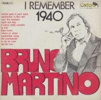 Gramofonska ploča Bruno Martino I Remember 1940 OX / 3083, stanje ploče je 9/10