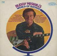 Gramofonska ploča Buddy Merrill World Of Guitars R-8096, stanje ploče je 9/10