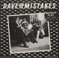 Gramofonska ploča Dave And The Mistakes Dave And The Mistakes SMP-4, stanje ploče je 10/10