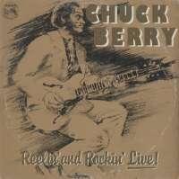 Gramofonska ploča Chuck Berry Reelin' And Rockin' Live LSADIT 11105, stanje ploče je 8/10