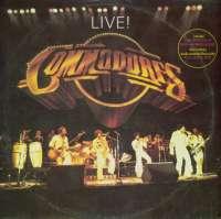 Gramofonska ploča Commodores Live! TMSP 6007, stanje ploče je 9/10