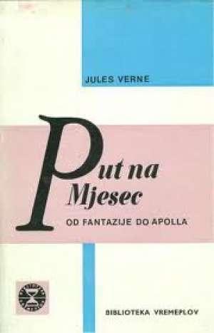 Put na mjesec* Verne Jules tvrdi uvez