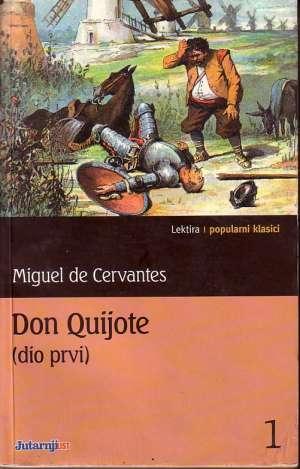 Don Quijote I-II Cervantes Miguel meki uvez