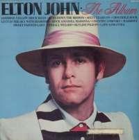 Gramofonska ploča Elton John The Album SHM 3088, stanje ploče je 10/10