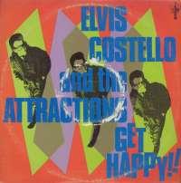 Gramofonska ploča Elvis Costello And The Attractions Get Happy! WEA 58114, stanje ploče je 9/10