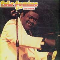 Live In Europe Fats Domino