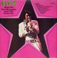 Gramofonska ploča Elvis Presley Elvis Sings Hits From His Movies CDS 1110, stanje ploče je 10/10