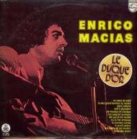 Gramofonska ploča Enrico Macias Le Disque D'or LP 5894, stanje ploče je 10/10