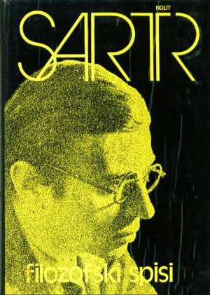 Filozofski spisi Sartre Jean Paul tvrdi uvez