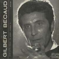 Gramofonska ploča Gilbert Becaud Recital By Gibert Becaud BTA 1301, stanje ploče je 7/10