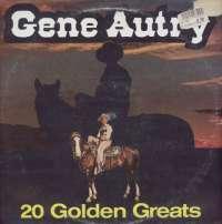 Gramofonska ploča Gene Autry 20 Golden Greats 20067, stanje ploče je 10/10