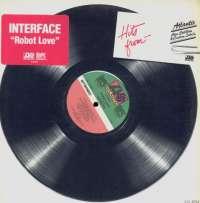 Gramofonska ploča Interface Robot Love 0-89844, stanje ploče je 10/10