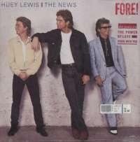 Gramofonska ploča Huey Lewis And The News Fore! 207 897, stanje ploče je 10/10