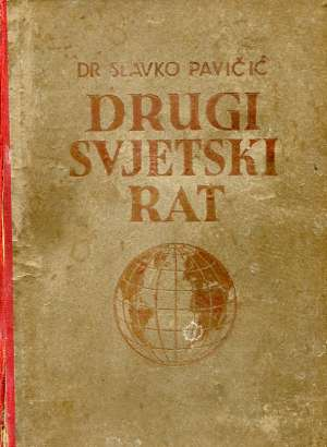 Drugi svjetski rat Slavko Pavičić tvrdi uvez