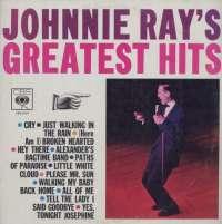 Gramofonska ploča Johnnie Ray Johnnie Ray's Greatest Hits CBS 52317, stanje ploče je 9/10
