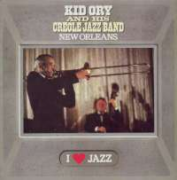 Gramofonska ploča Kid Ory And His Creole Jazz Band New Orleans CBS 21061, stanje ploče je 10/10