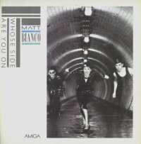 Gramofonska ploča Matt Bianco Whose Side Are You On 8 56 499, stanje ploče je 9/10