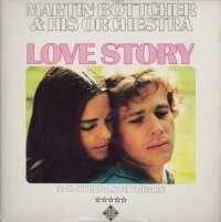 Gramofonska ploča Martin Böttcher Sa Svojim Orkestrom Love Story SLE 14 690-P, stanje ploče je 10/10