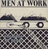Gramofonska ploča Men At Work Business As Usual CBS 85423, stanje ploče je 10/10