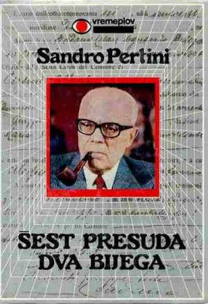 šest presuda dva bijega Sandro Pertini tvrdi uvez